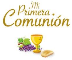 MI PRIMERA COMUNIÓN 2018